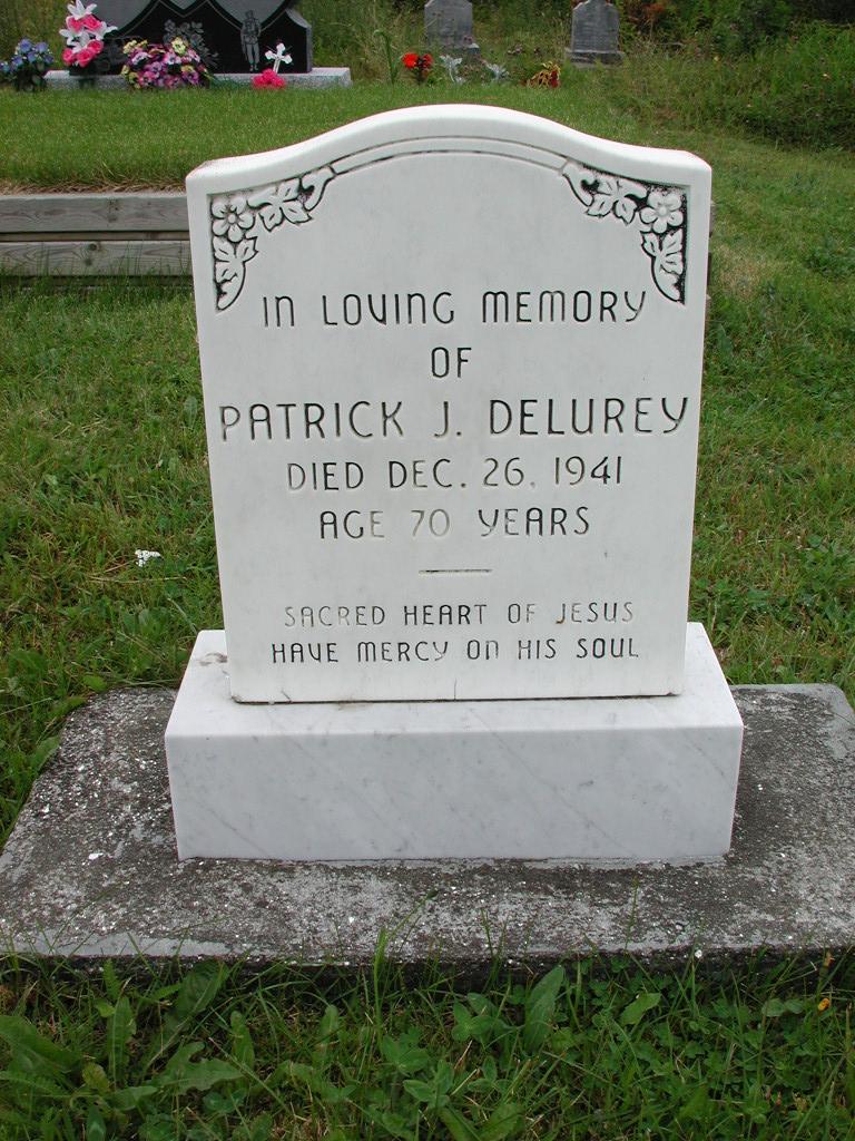 DELUREY, Patrick J (1941) RIV01-2179