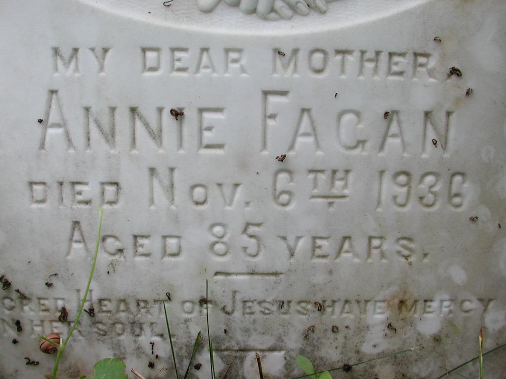 FAGAN, Annie (1936) RIV01-2072