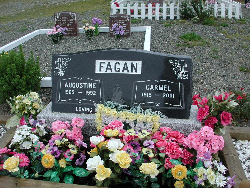 FAGAN, Augustine (1992) & Carmel (2001) RIV01-2245