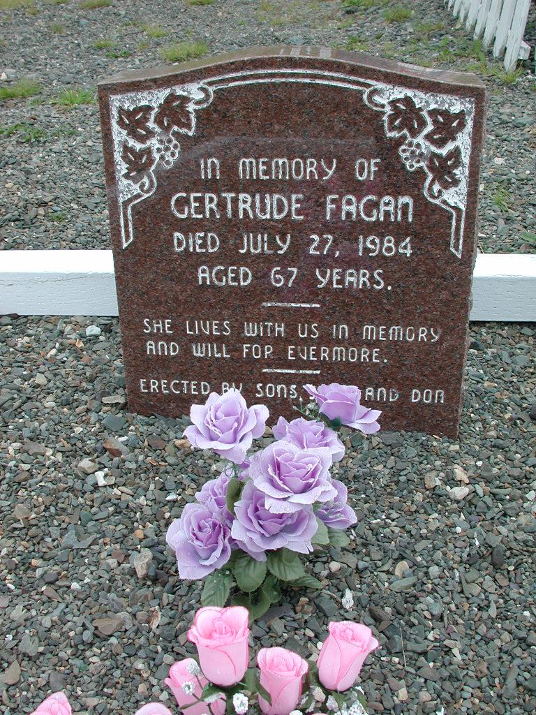 FAGAN, Gertrude (1984) RIV01-2241
