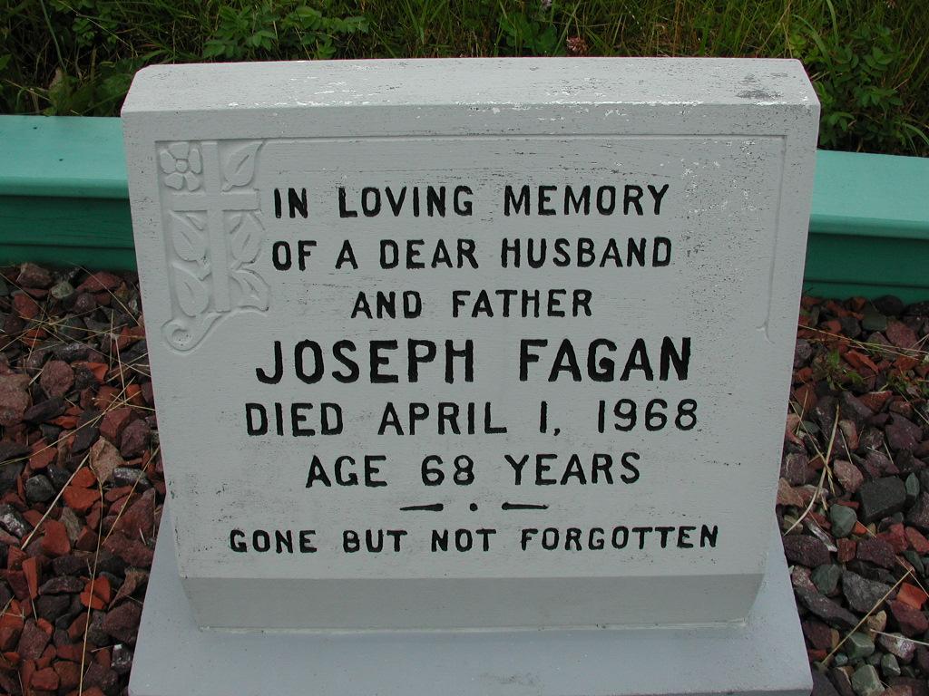 FAGAN, Joseph (1968) RIV01-7840