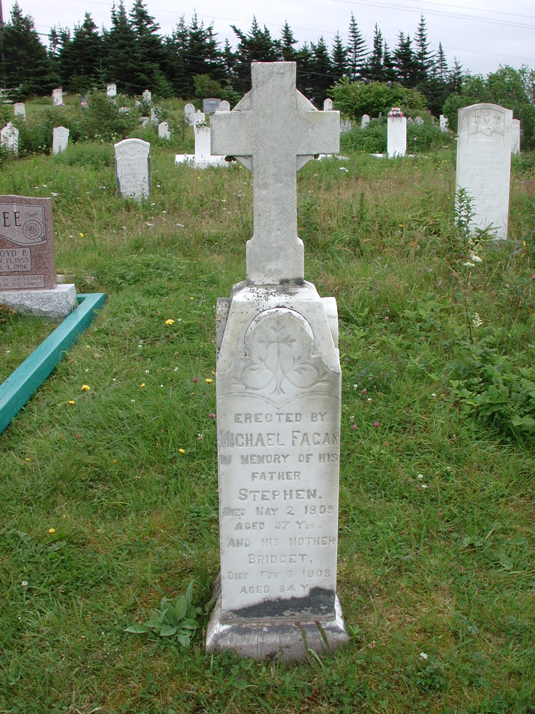 FAGAN, Stephen (1909) & Bridget (1908) RIV01-2134