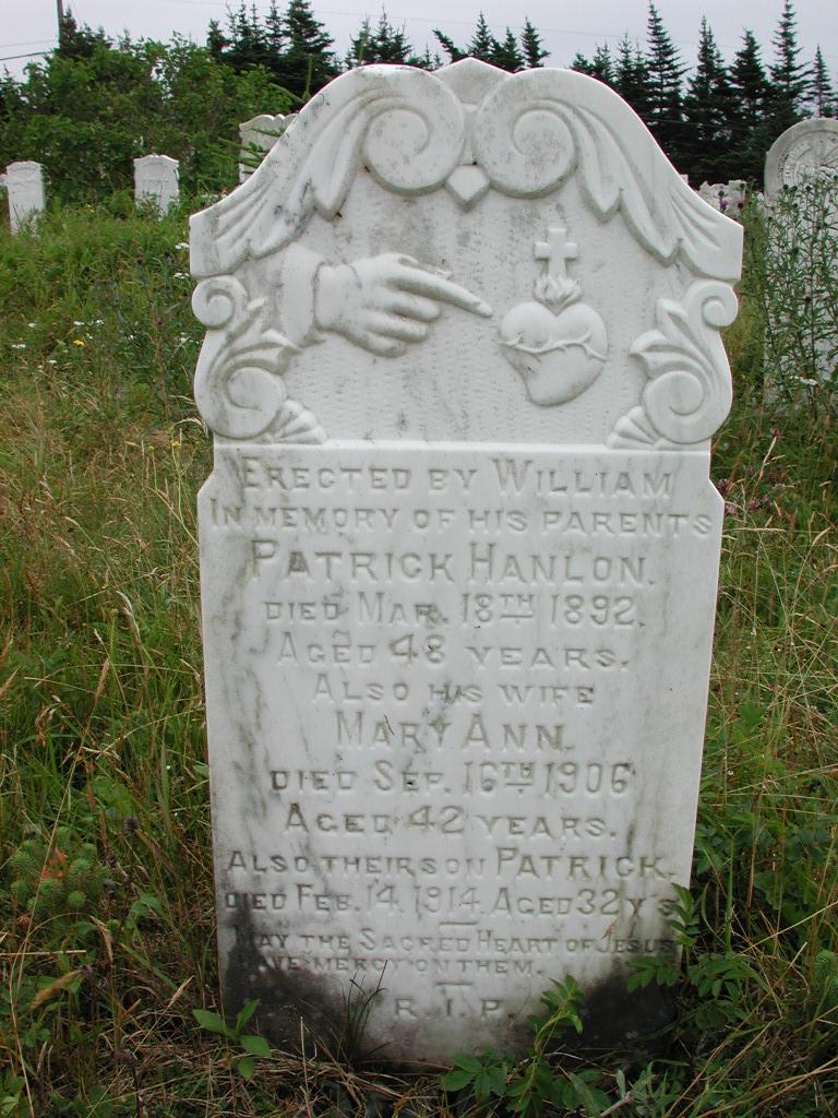 HANLON, Patrick (1892) & Mary Ann & Patrick RIV01-2177