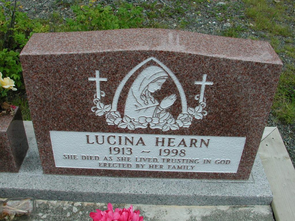 HEARN, Lucina (1998) RIV01-8024