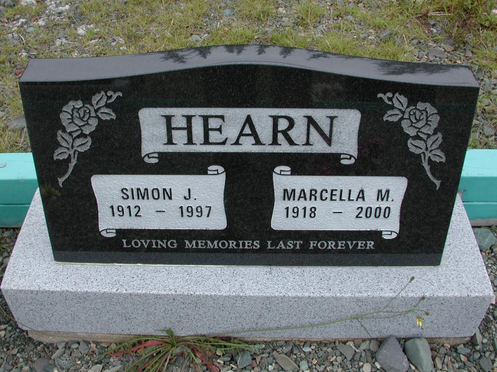 HEARN, Simon J (1997) & Marcella M (2000) RIV01-8025