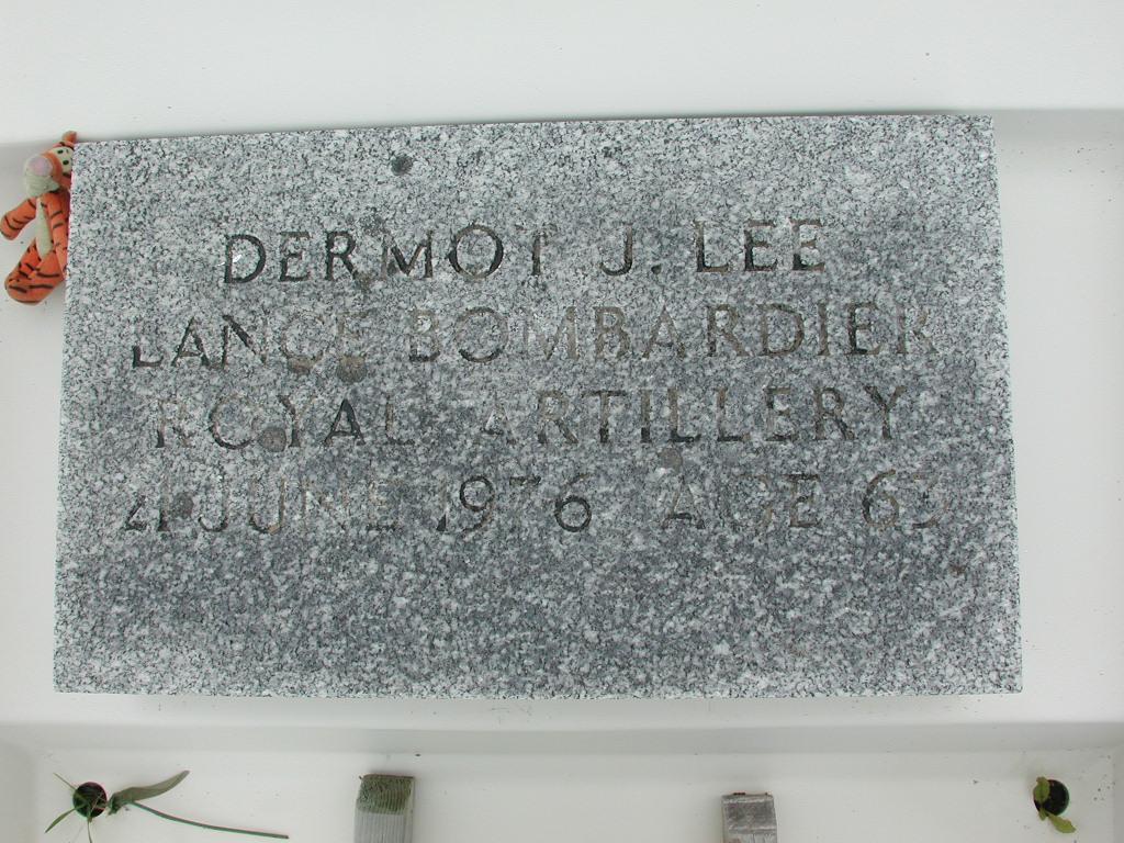 LEE, Dermot J (1976) RIV01-2244