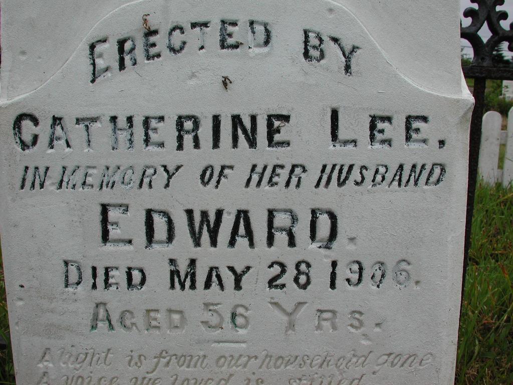 LEE, Edward (1906) RIV01-2065