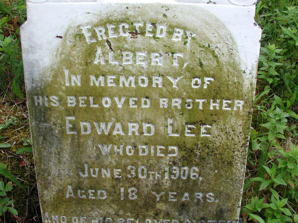 LEE, Edward (1906) & Sarah Ann (1907) RIV01-7947