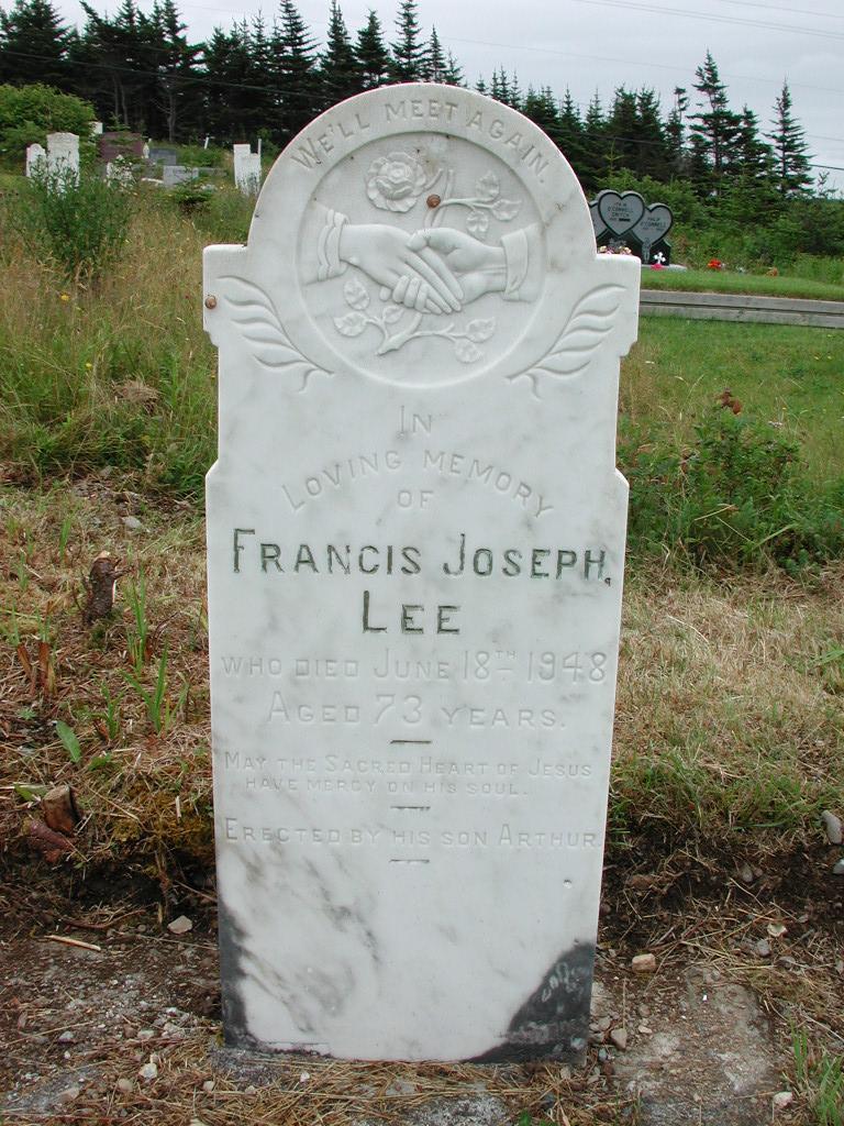 LEE, Francis Joseph (1948) RIV01-2121