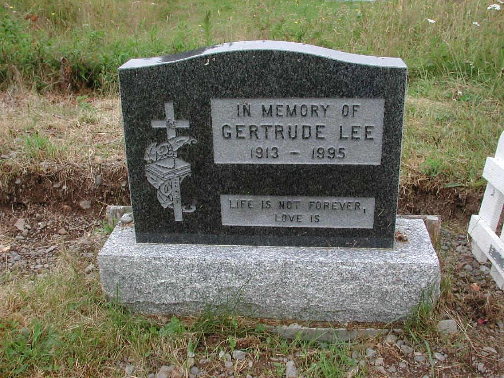 LEE, Gertrude (1995) RIV01-2119
