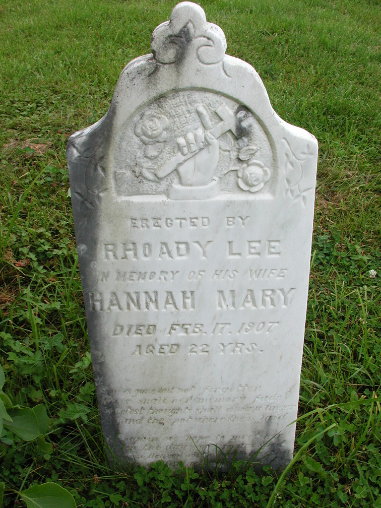 LEE, Hannah Mary (1907) RIV01-7978