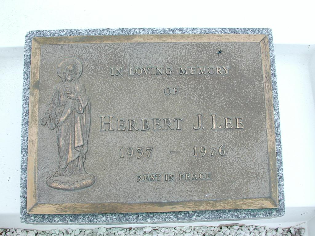 LEE, Herbert J (1976) RIV01-8039
