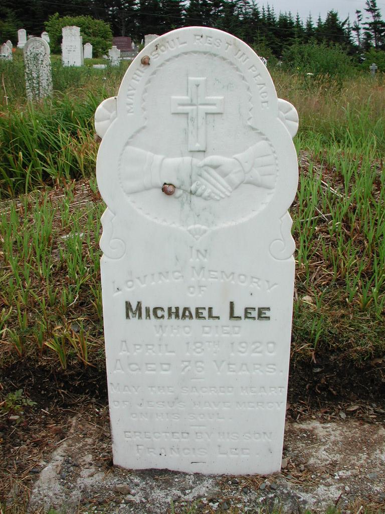 LEE, Michael (1920) RIV01-2124