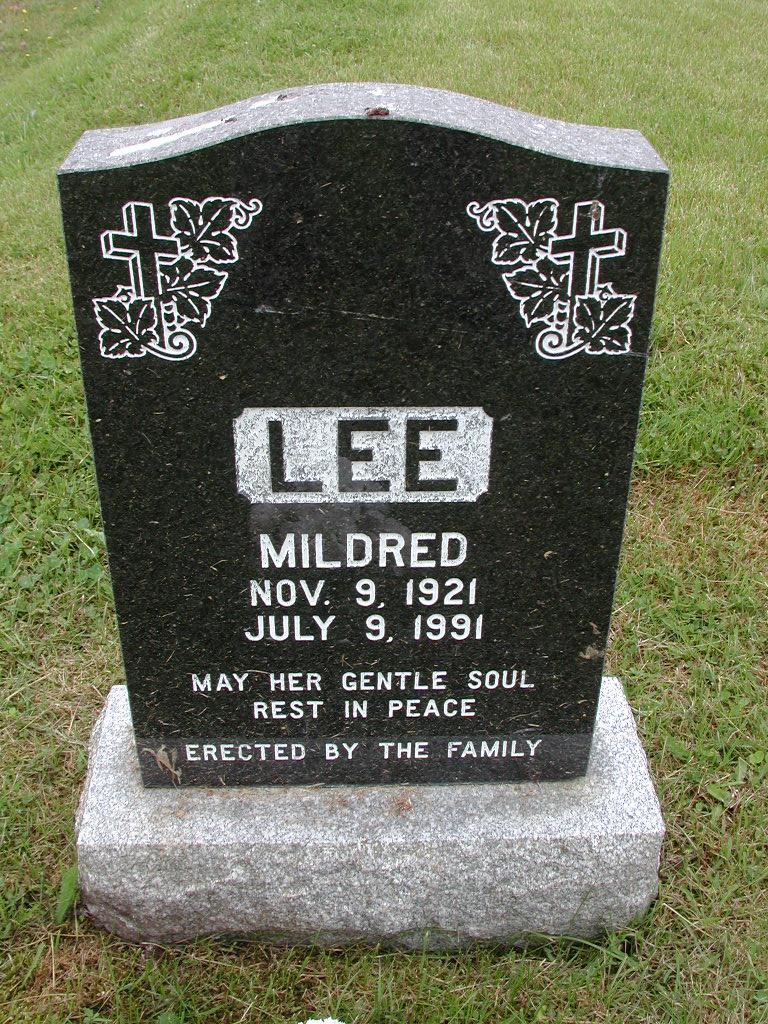 LEE, Mildred (1991) RIV01-7881