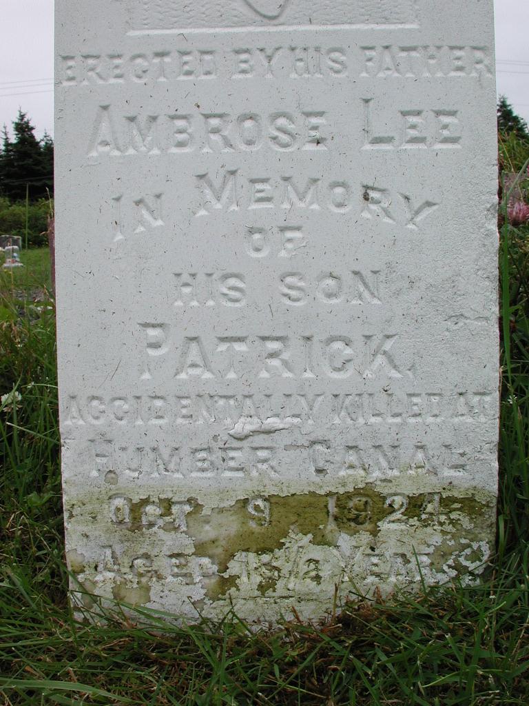 LEE, Patrick (1924) RIV01-2146