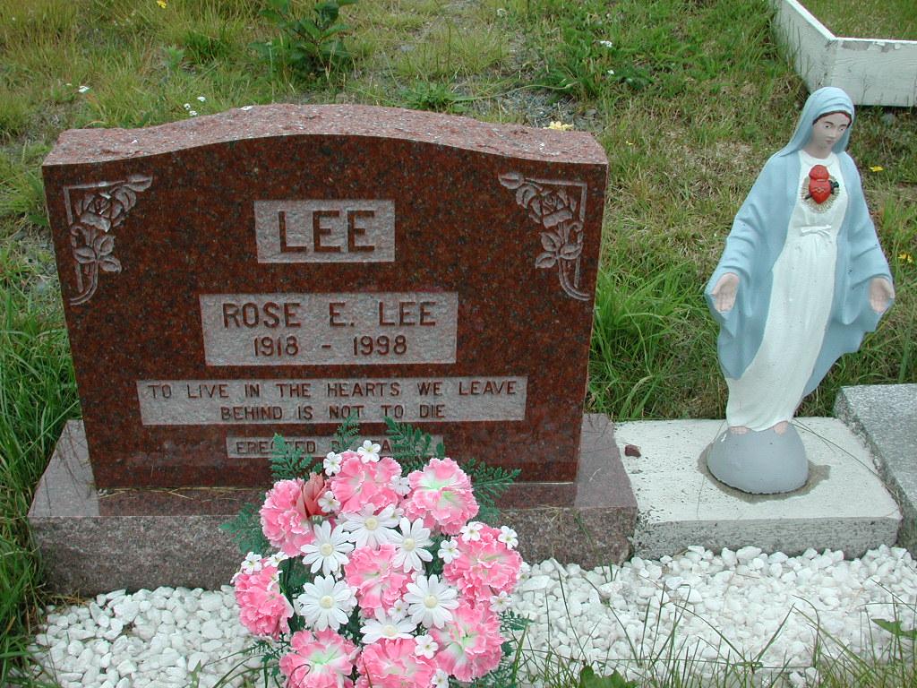 LEE, Rose E (1998) RIV01-2228
