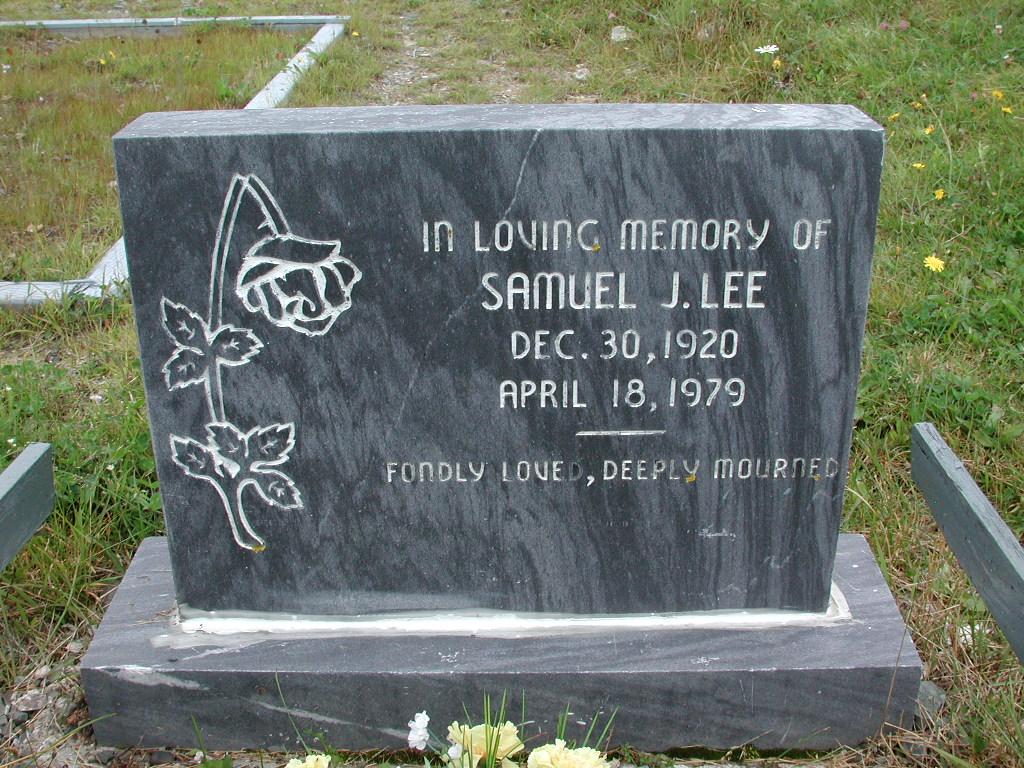 LEE, Samuel J (1979) RIV01-2247