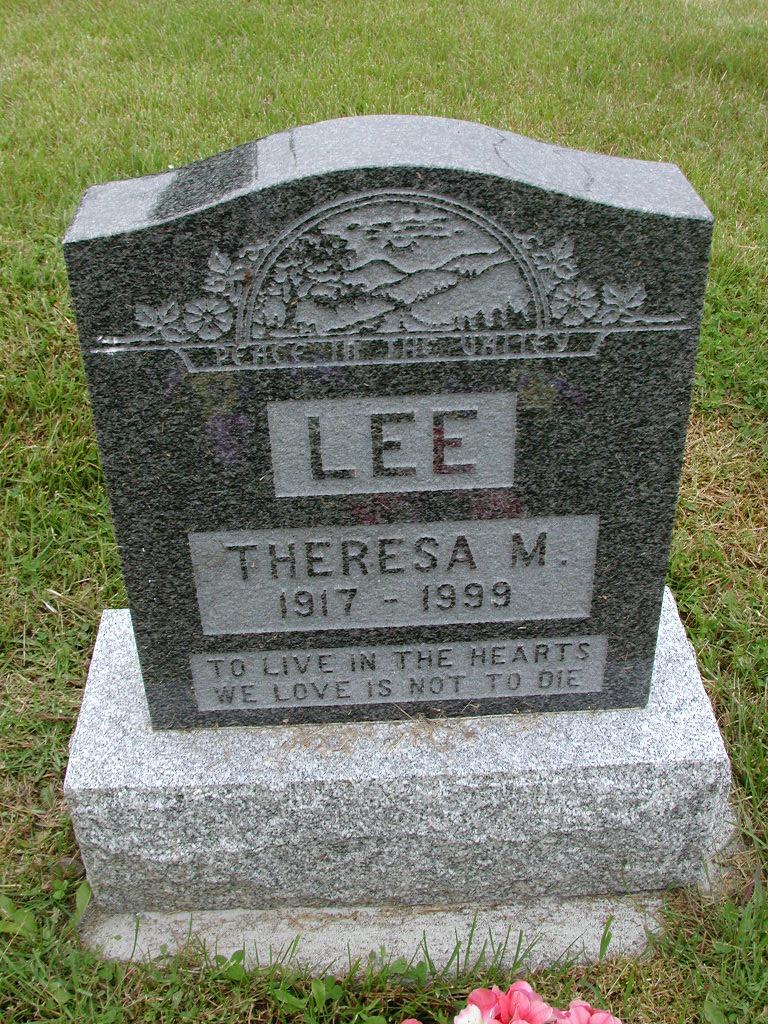 LEE, Theresa M (1999) RIV01-7882
