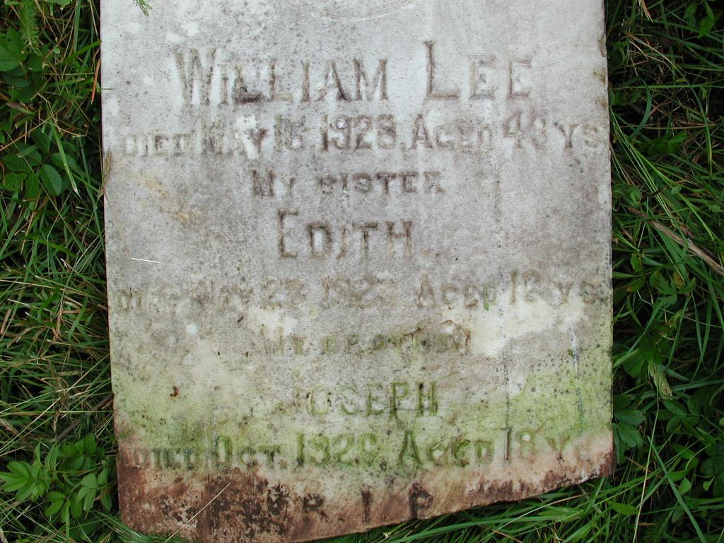 LEE, William (1928) & Edith & Joseph RIV01-7889