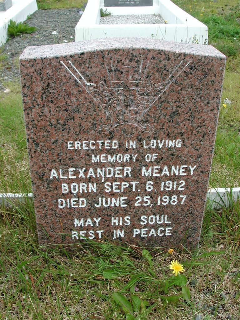 MEANEY, Alexander (1987) RIV01-8053