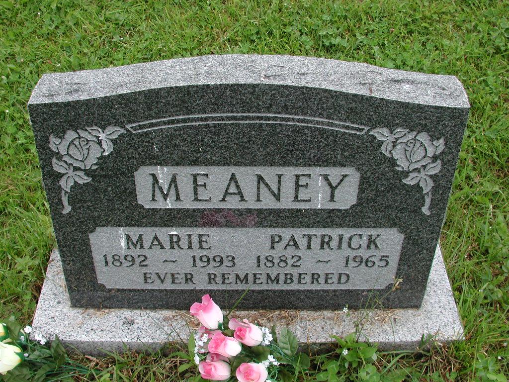 MEANEY, Patrick (1965) & Marie (1993) RIV01-7985