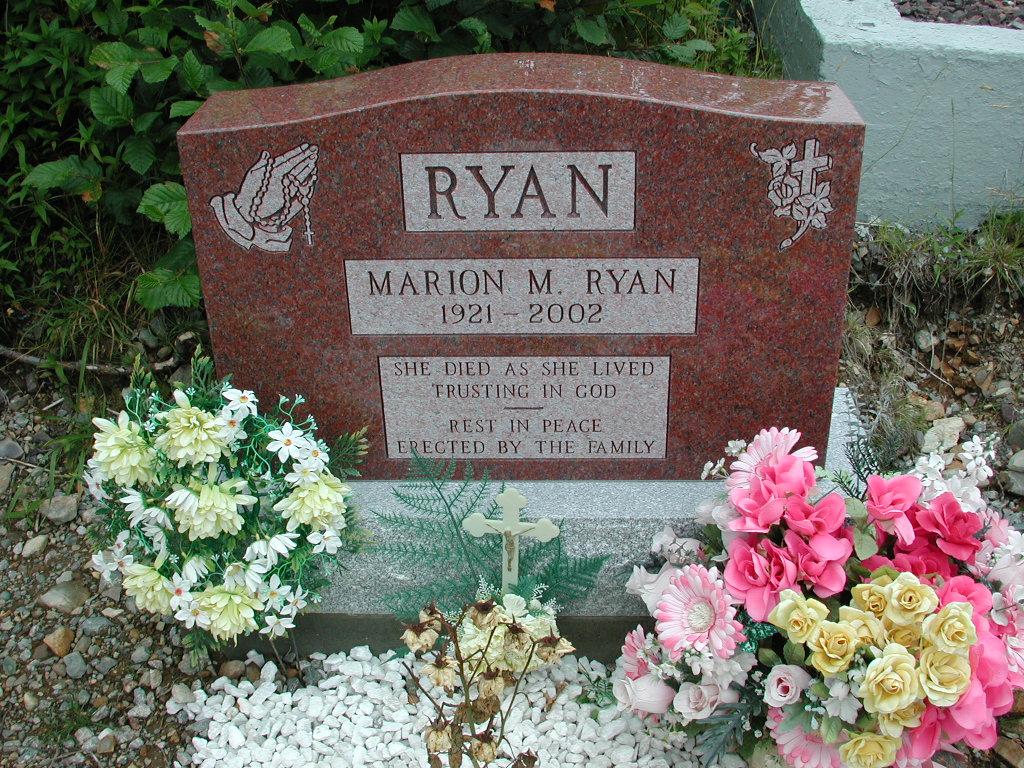 RYAN, Marion M (2002) RIV01-2206
