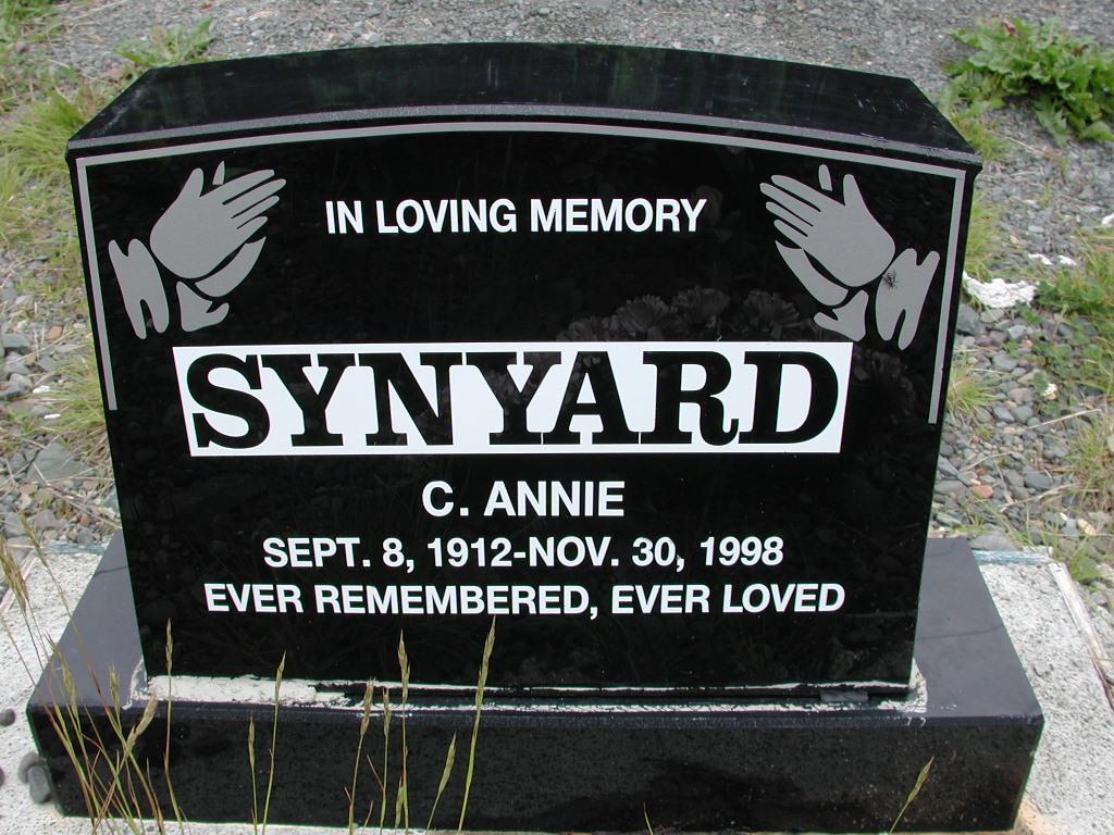 SYNYARD, C Annie (1998) RIV01-8042