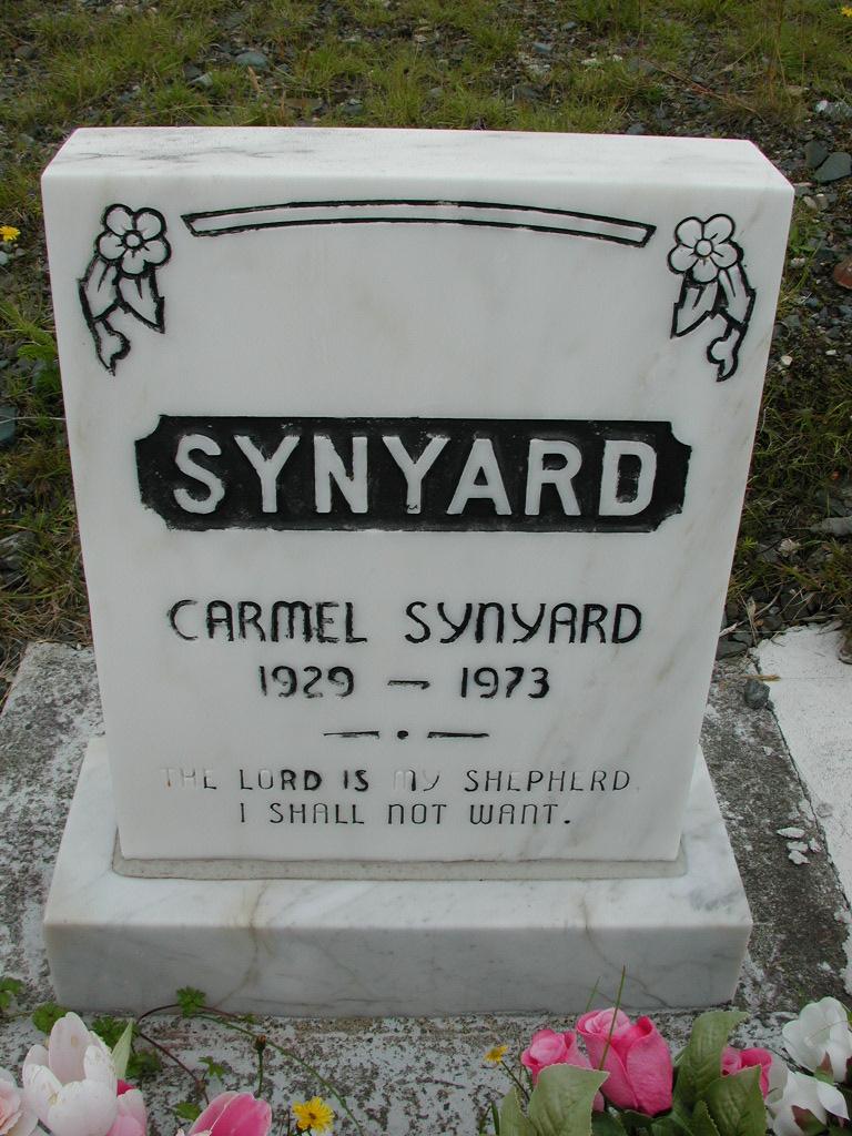 SYNYARD, Carmel (1973) RIV01-8035