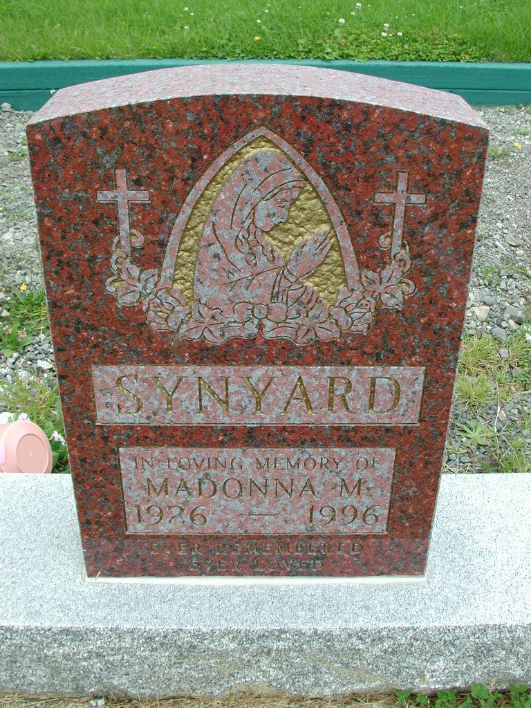 SYNYARD, Madonna M (1996) RIV01-8022