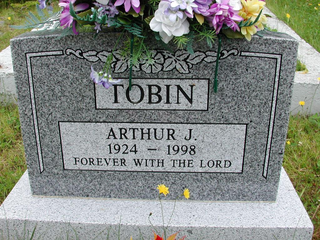 TOBIN, Arthur J (1998) RIV01-8034