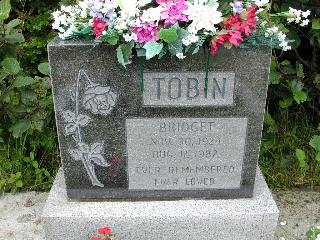 TOBIN, Bridget (1982) RIV01-8010