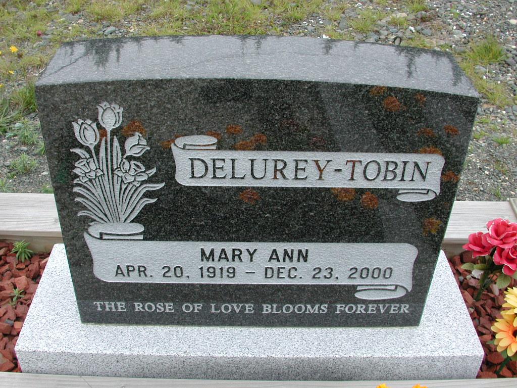 TOBIN, Mary Ann Delurey (2000) RIV01-8051