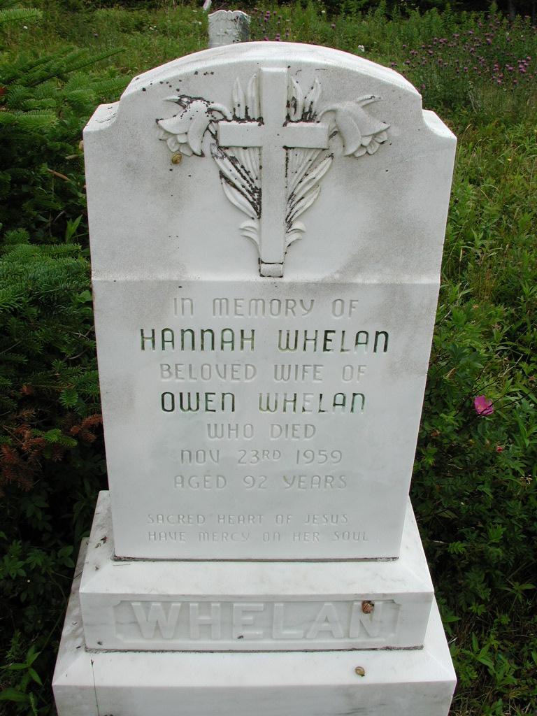 WHELAN, Hannah (1959) RIV01-7863