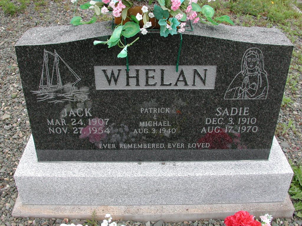WHELAN, Jack (1954) & Sadie (1970) RIV01-7874