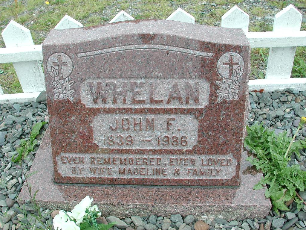 WHELAN, John F (1986) RIV01-2240