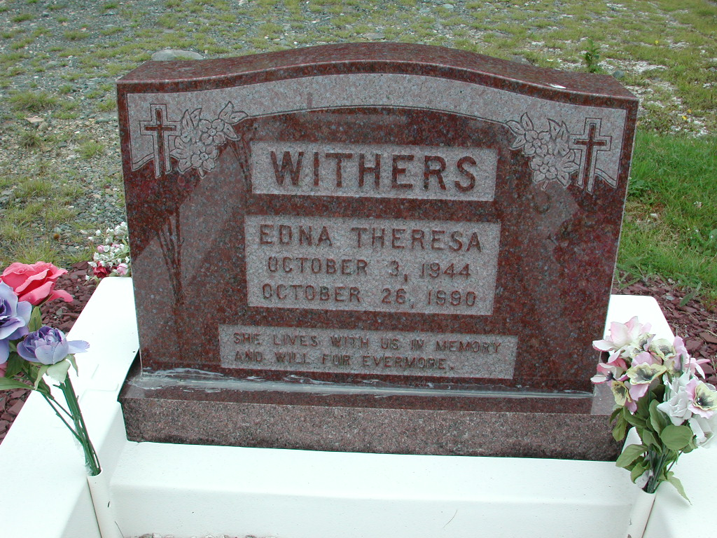 WITHERS, Edna Theresa (1990) RIV01-2221
