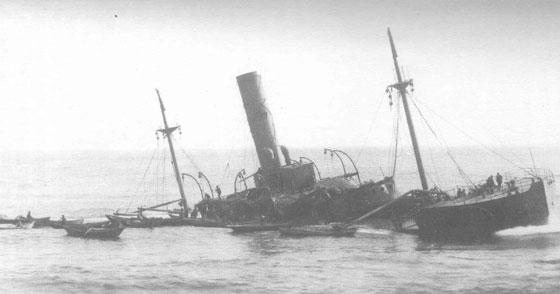 SS Florizel sink site