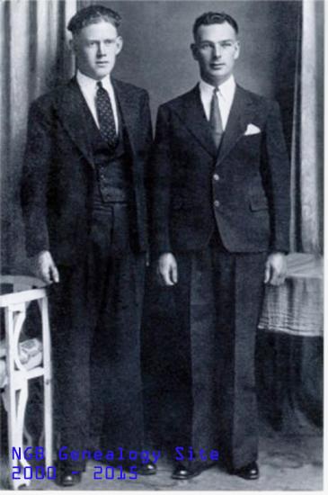 Peter Duggan, 3509(left), and Doug Nash, 3010